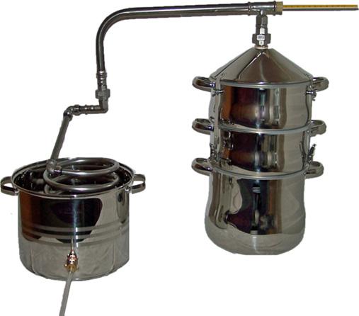 Edelstahl destille
